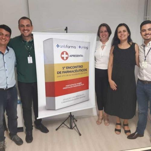 1º Encontro de farmacêuticos da ANB Farma e Pharma Log