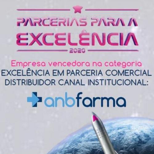 ANB Farma ganha prêmio do Aché Laboratórios